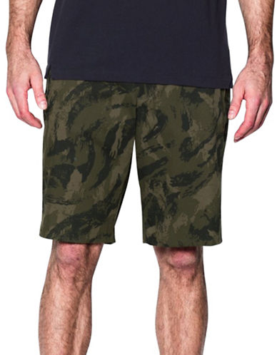 Under Armour Printed Performance Shorts-GREEN-34 88200610_GREEN_34