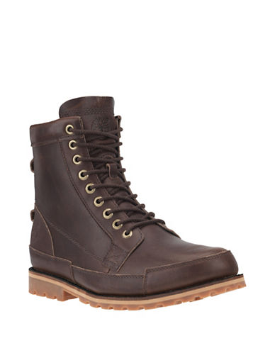 Timberland Mt. Hayes Waterproof Leather Tall Boots-BROWN-7
