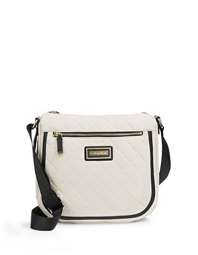 Calvin Klein Belfast Nylon Messenger Bag-WHITE/BLACK-One Size 87548186_WHITE/BLACK_One Size