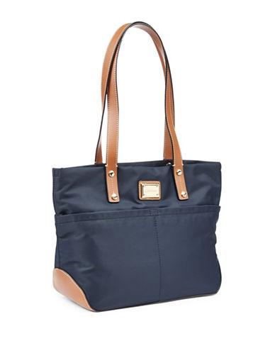 Calvin Klein Nylon Tote Bag-NAVY-One Size