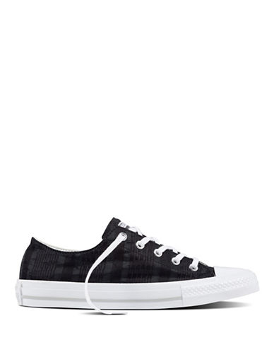 Converse Womens Gemma Oxford Sneakers-BLACK-5
