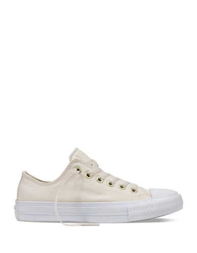 Converse Womens Chuck Taylor All Star II Sneakers-WHITE-8