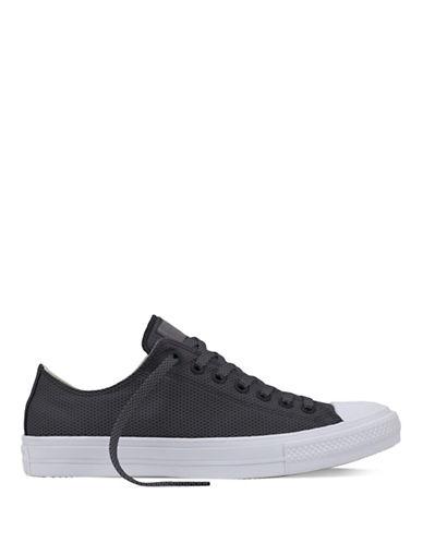 Converse Mens Chuck Taylor All Star II Basketweave Fuse Sneakers-GREY-9