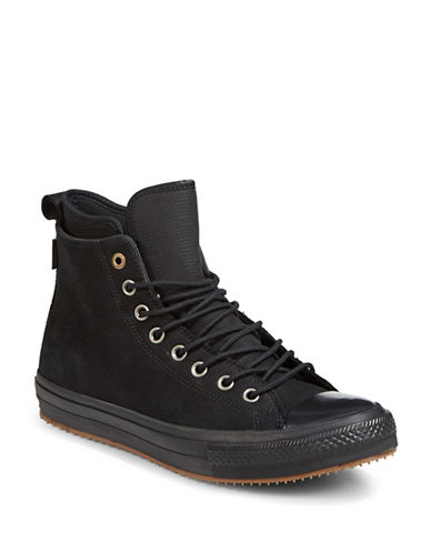 Converse Chuck Taylor All Star Leather Sneakers-BLACK-7