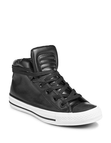 Converse Classic High-Top Sneakers-BLACK/WHITE-8.5