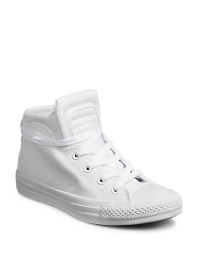 Converse Classic High-Top Sneakers-WHITE-11