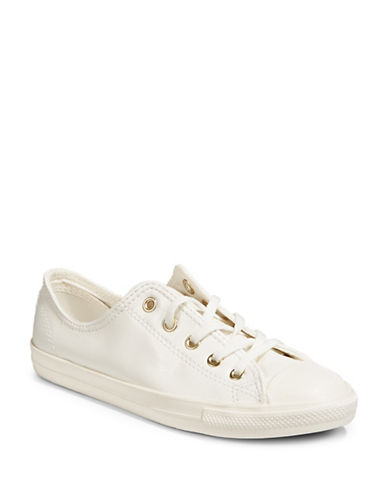 Converse Dainty Low-Top Sneakers-EGRET/GOLD-8.5