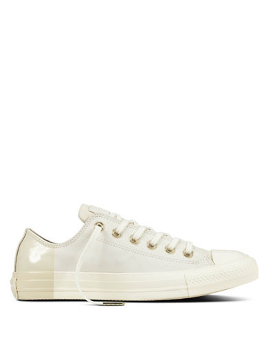 Converse Chuck Taylor All Star Nubuck Leather Sneakers-BEIGE-8.5
