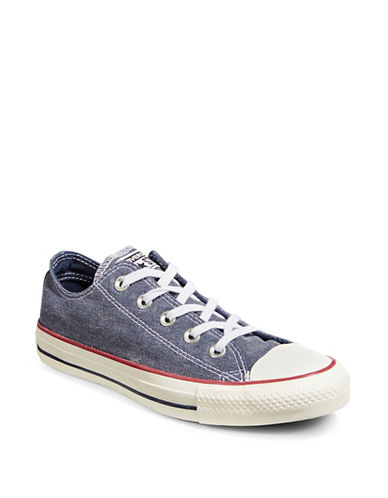 Converse Stone Wash Low-Top Sneakers-BLUE-5