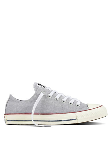 Converse Chuck Taylor All Star Stonewashed Canvas Sneakers-GREY-5