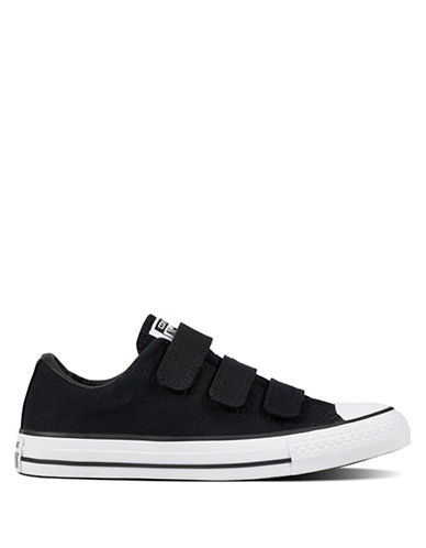 Converse 3V Canvas Low-Top Sneakers-BLACK-7
