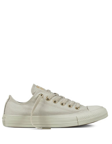 Converse Chuck Taylor Low Top Sneakers-PALE GREY-5