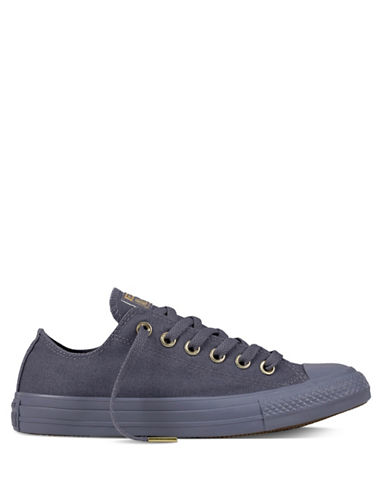 Converse Chuck Taylor Low Top Sneakers-GREY-9.5