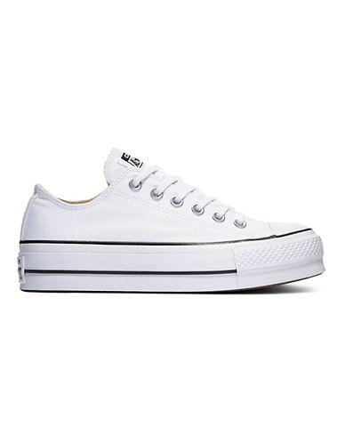 Converse Lift Canvas Platform Sneakers-WHITE-8