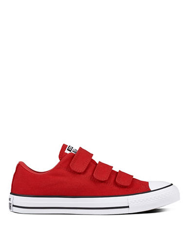 Converse Chuck Taylor All Star 3V Canvas Sneakers-RED-5.5