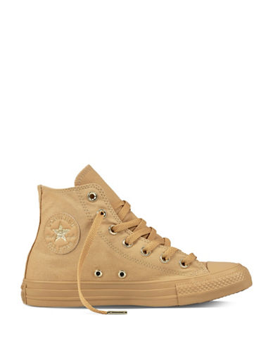 Converse Chuck Taylor High Top Sneakers-BROWN-7.5