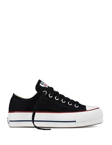 Converse Lift Canvas Platform Sneakers-BLACK-8