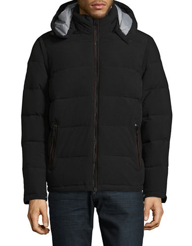 Vince Camuto Convertible Puffer Jacket-BLACK-XX-Large
