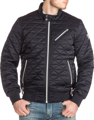 Guess Quilted Bomber Jacket-BLUE-X-Large 88890609_BLUE_X-Large