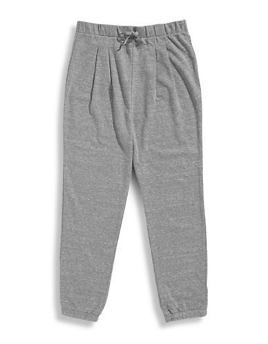 Love Fire Girls 7 To 16 Active Jogger Pants-GREY-Medium 87271515_GREY_Medium