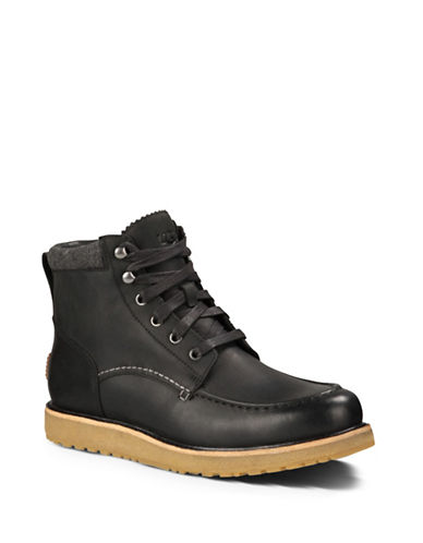 Ugg Merrick Waterproof Boots-BLACK-13