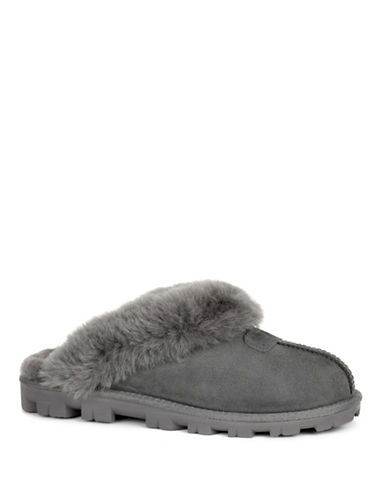 Ugg Coquette Slippers-GREY-7