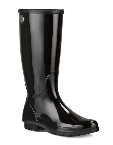 Ugg Shaye Rain Boots-BLACK-7