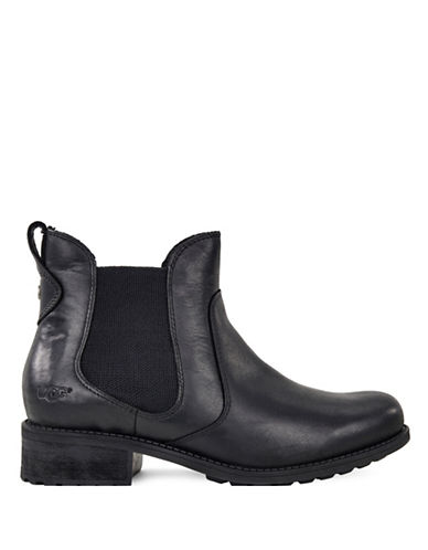Ugg Bonham Avalahn Weather Leather Winter Boots-BLACK-10