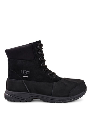 Ugg Metcalf Cold Weather Waterproof Boots-BLACK-12