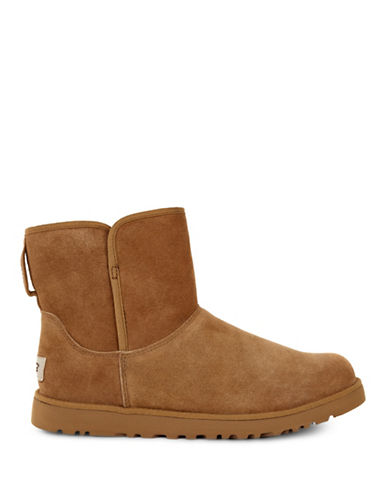 Ugg Cory Classic Slim Short Boots-CHESTNUT-7