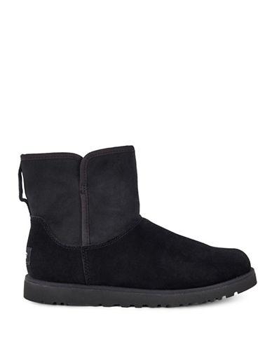 Ugg Cory Classic Slim Short Boots-BLACK-10