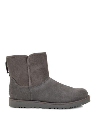 Ugg Cory Classic Slim Short Boots-GREY-6