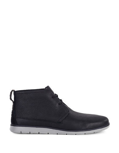 Ugg Freamon Treadlite Leather Chukka Boots-BLACK-13