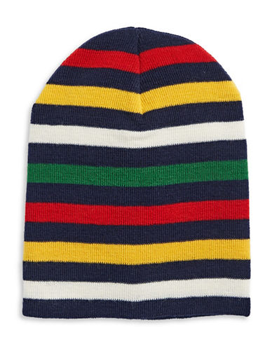 HudsonS Bay Company Slouchy Tuque-NAVY MULTI-One Size