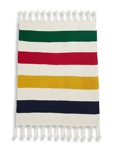 Hudson'S Bay Company Chunky Knit Throw-MULTI-One Size