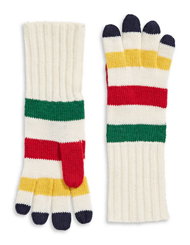 HudsonS Bay Company Knit Gloves-MULTI-COLOURED-One Size