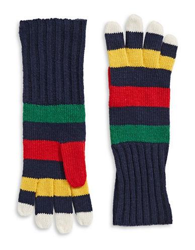 HudsonS Bay Company Knit Gloves-NAVY-One Size