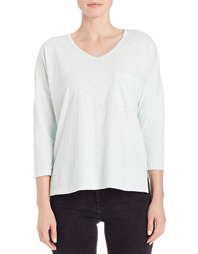 Lord & Taylor Pullover Dolman Tee-GREEN-Small 88014149_GREEN_Small