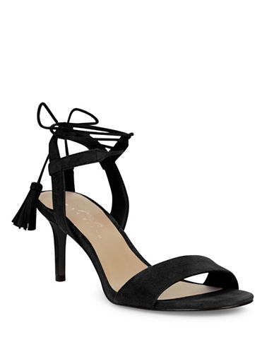 424 Fifth Giovanna Suede Sandals-BLACK-10