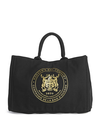 HudsonS Bay Company City Tote-BLACK-One Size