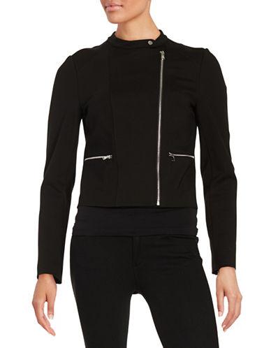 Imnyc Isaac Mizrahi Ponte Moto Jacket-BLACK-Small 88167989_BLACK_Small