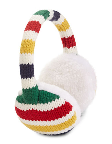 HudsonS Bay Company Multistripe Earmuffs-MULTI-One Size