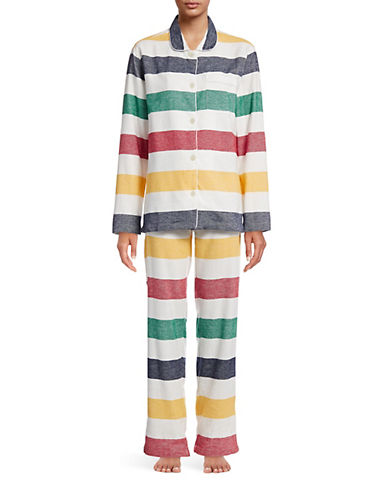 HudsonS Bay Company Flannel Pyjamas   Women-MULTI-X-Small
