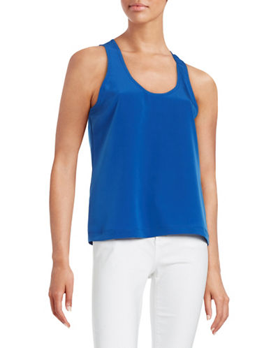 H Halston Sleeveless Top-BLUE-X-Large 88335770_BLUE_X-Large