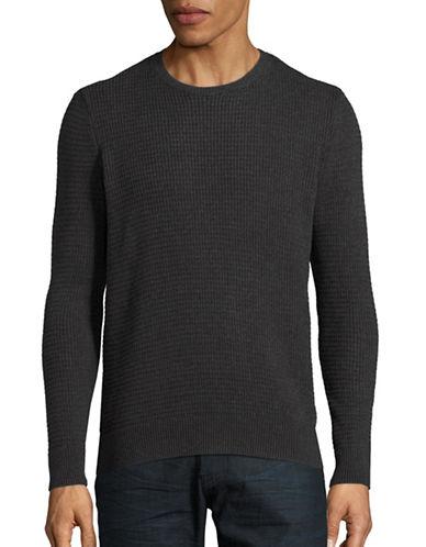 Hudson North Fisherman Stitch Sweater-DARK GREY-Small 88497328_DARK GREY_Small