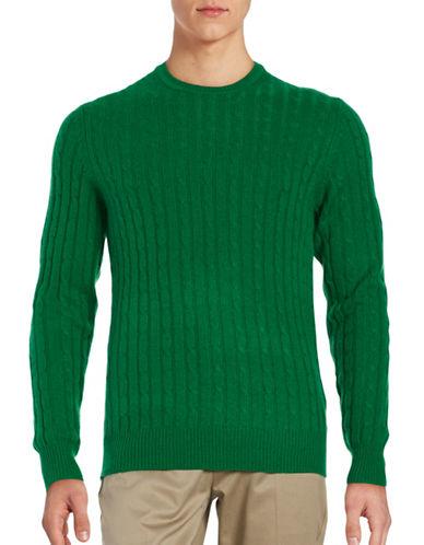 Black Brown 1826 Cashmere Cable-Knit Sweater-ASPARAGUS-XXX-Large 88620811_ASPARAGUS_XXX-Large