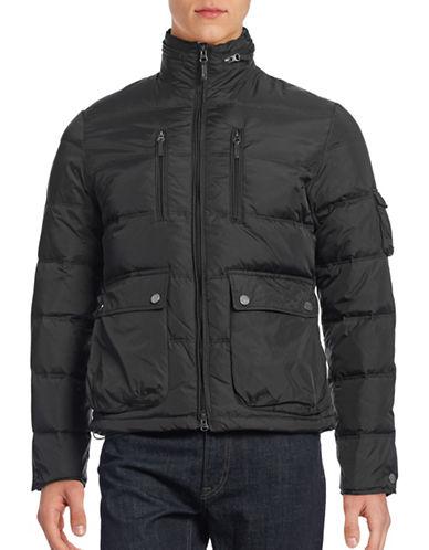 Black Brown 1826 Multi-Pocket Puff Jacket-BLACK-X-Large 88473318_BLACK_X-Large