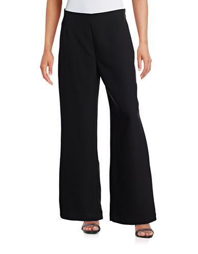 Highline Collective Pull-On Wide Leg Pants-BLACK-X-Small 88415784_BLACK_X-Small