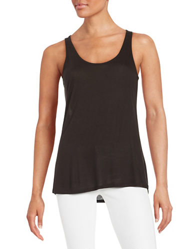 Highline Collective Flowy Tank Top-BLACK-X-Small 88413908_BLACK_X-Small