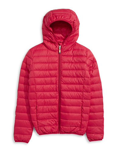HudsonS Bay Company Packable Down Jacket - Bomber - Women-RED-X-Large
